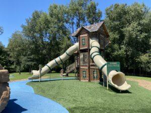Creasey slide playground